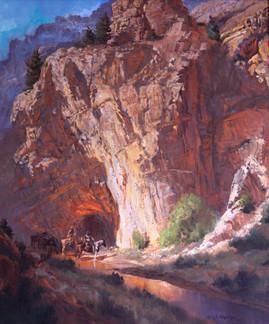 Virgin River Canyon by Glen S. Hopkinson