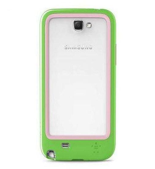 Belkin Surround Case For Samsung Galaxy Note 2 In Green/Pink