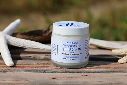 Summer Breeze Hand Cream- 4oz