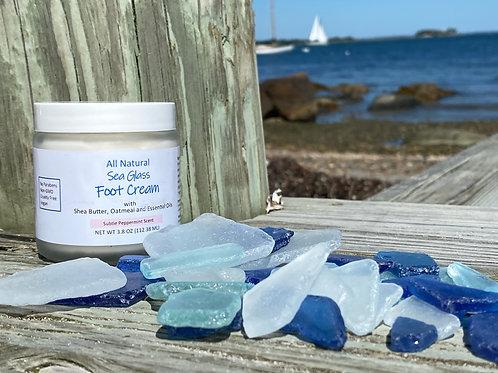 Sea Glass Foot Cream- 3.8oz