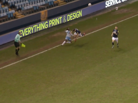 Milwall 1-2 Coventry City