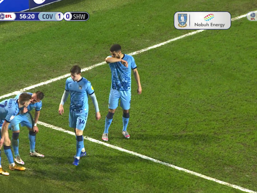 Coventry City 2-0 Sheffield Wednesday