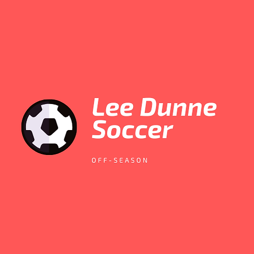 Off-Season 8 Week Soccer Training Plan