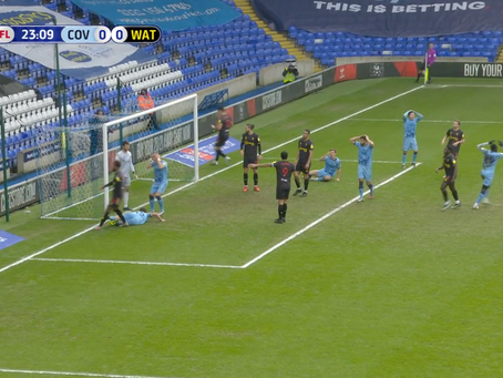 Coventry City 0-0 Watford FC