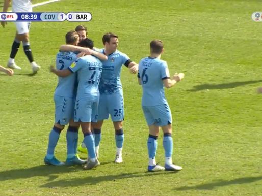 Coventry City 2-0 Barnsley FC