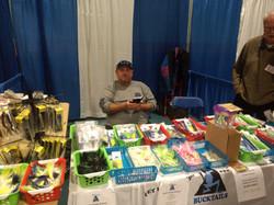 Doug & Blue Frog Bucktails at Freeport Show