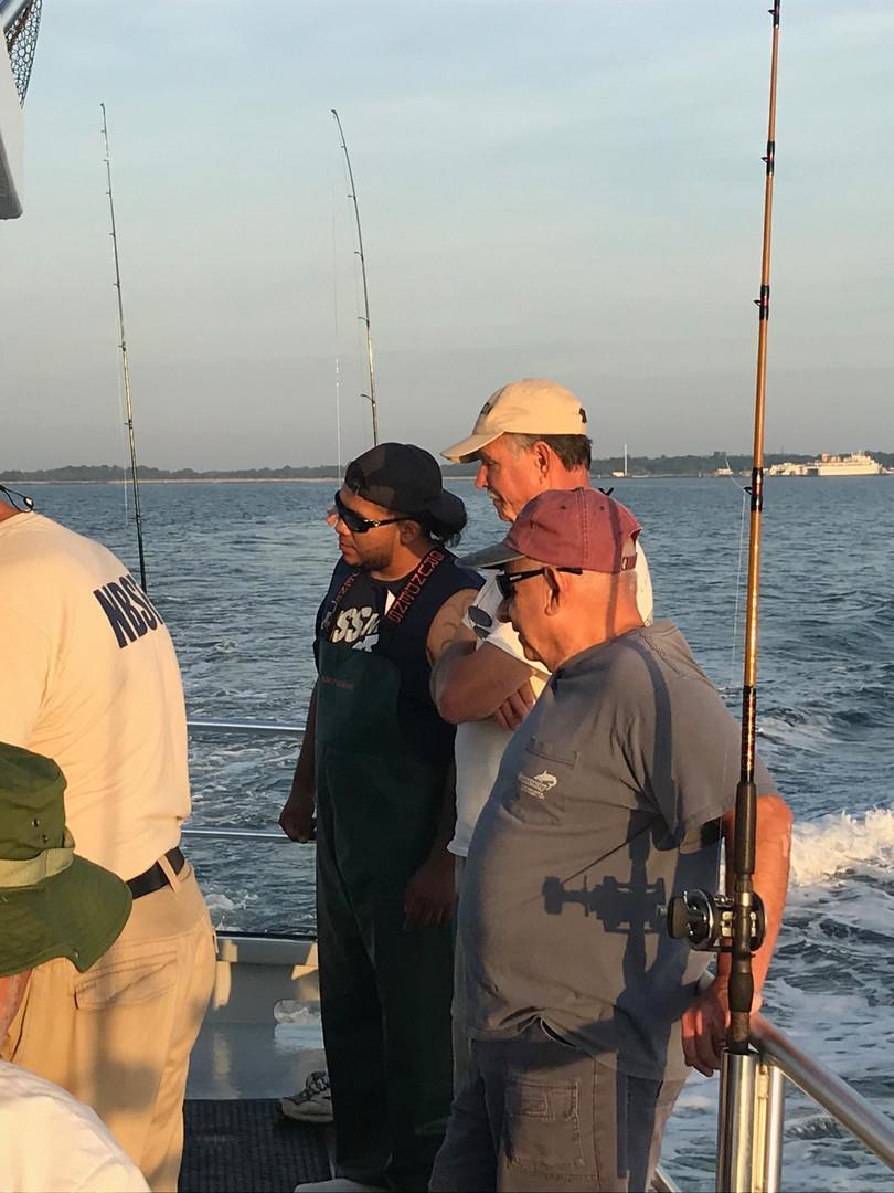 Dan, Rich and Steve Fazio 7-20 Brooklyn