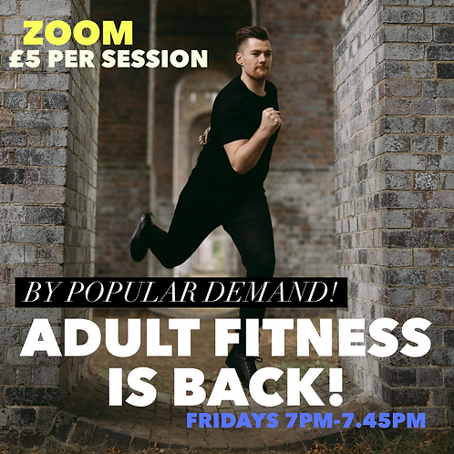 Zoom Adult Fitness Class