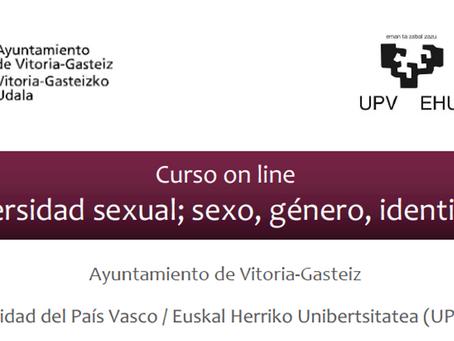 Curso on-line Diversidad sexual; sexo, género, identidad