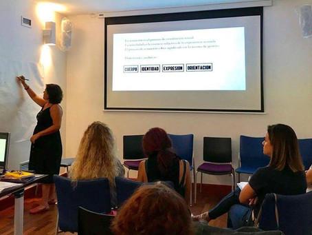 Formación a agentes de igualdad de la Red Insular de atención y prevención de violencia de género