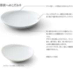 有田のパスタ皿 チェルキオ