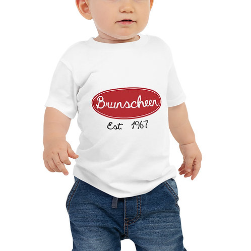 "Robert Brunscheen Trucking ""Peterbilt"" Baby Jersey Short Sleeve Tee"