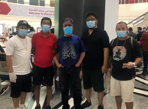 Darjeeling COVID Heroes: Core Team | Dubai to Bagdogra Repatriation Flights
