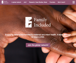 Family Included webpage cover