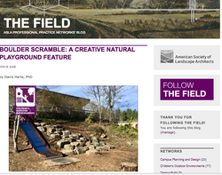 The Field guest blog
