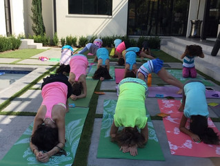 Kids Yoga Around Town