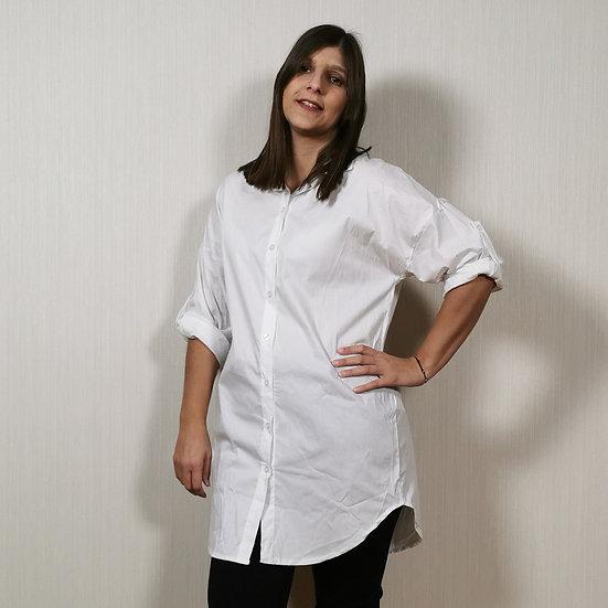 Camisa oversized comprida