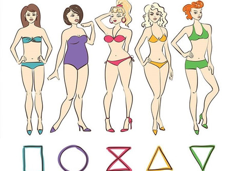 Os diferentes tipos de corpo feminino