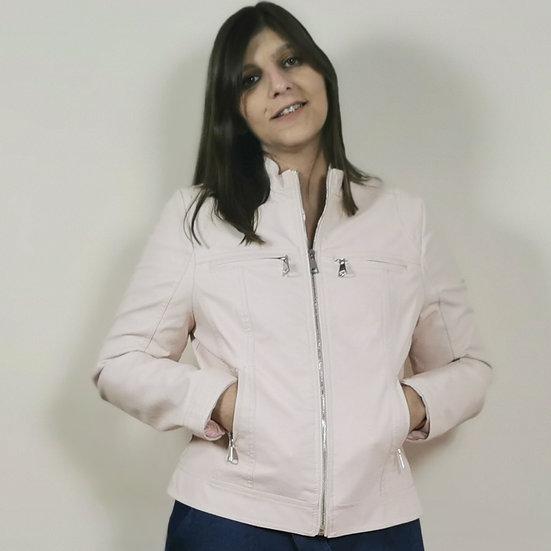 Jaqueta pele sintética