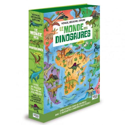 Voyage, découvre, explore le Monde des dinosaures