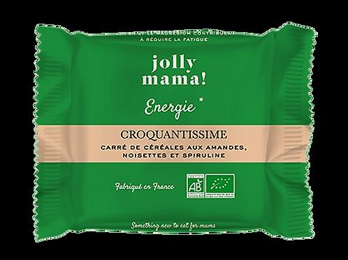 """Carré de céréales """"Croquantissime"""" ☆ JOLLY MAMA"""