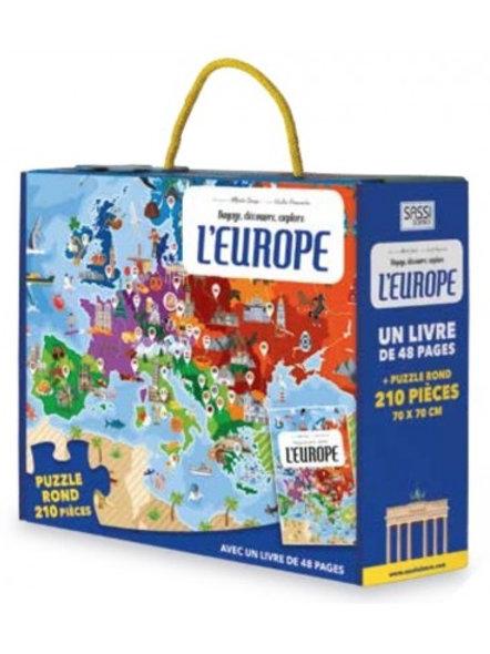 Puzzle l'Europe SASSI