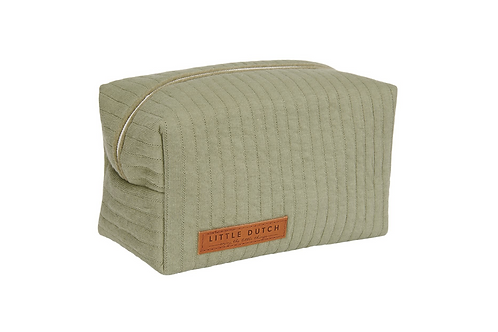 Trousse de toilette Pure Olive ☆ LITTLE DUTCH