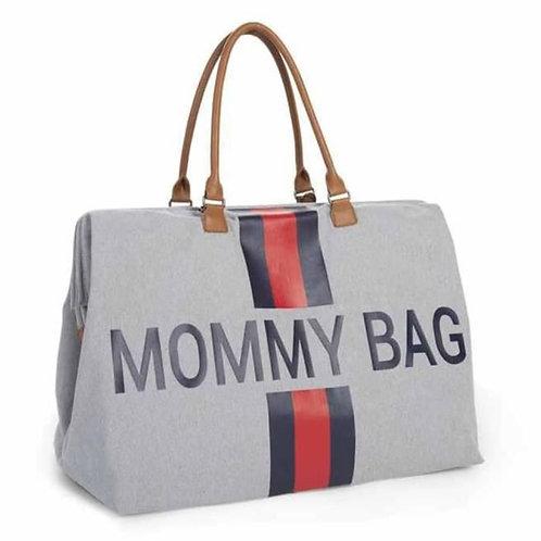 Mommy bag gris/bleu/rouge ☆ Childhome
