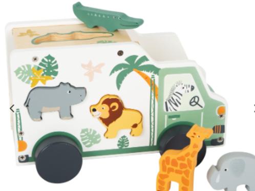 Camion safari à encastrer