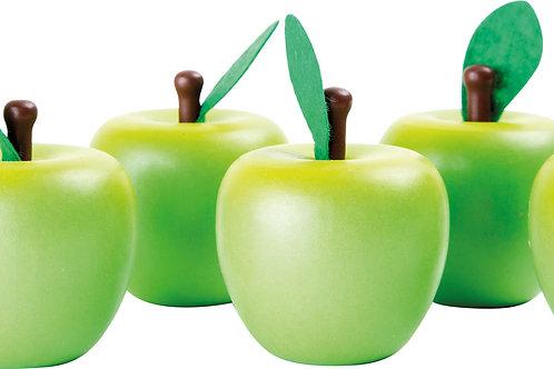 "Fruit/Légume en bois ""Pomme"""