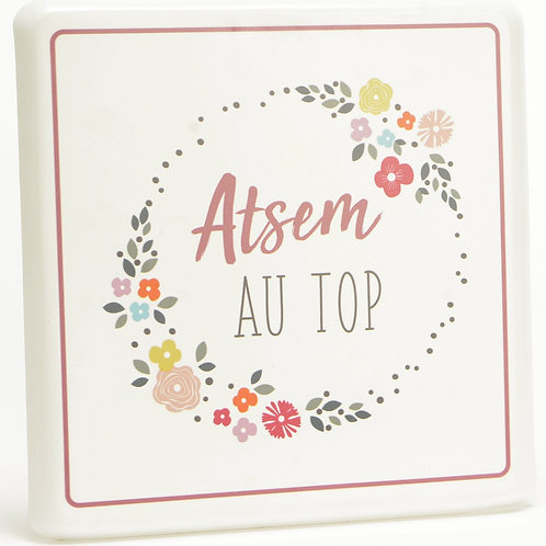 "Plaque décorative ""Atsem"" ☆ AMADEUS"