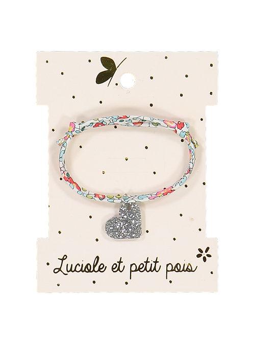 Bracelet Liberty Eloise Bleu ☆ LUCIOLE ET PETIT POIS