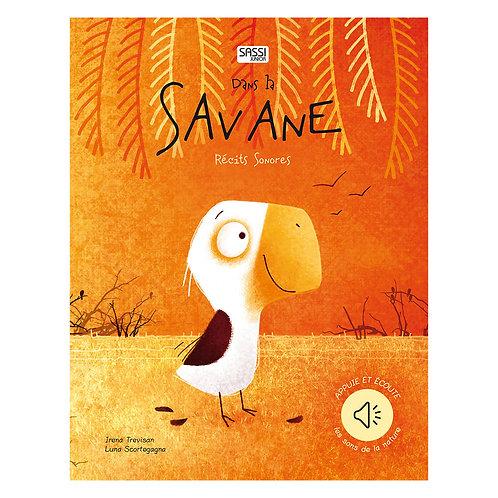"Livre sonore ""Dans la savane"" SASSI"