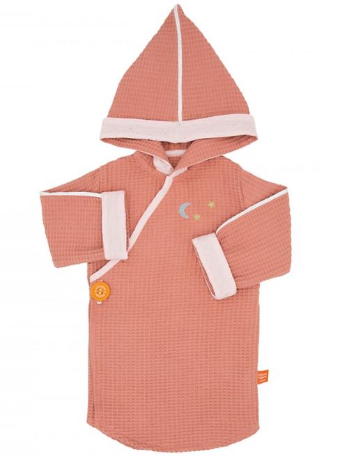 Kimono de bain Marssala et Poudré  ☆ L'OISEAU BATEAU