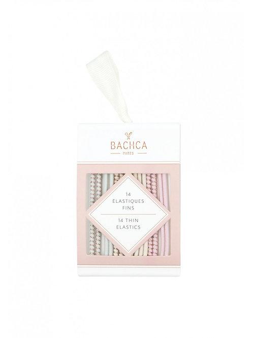 Elastiques fins pastels x14 ☆ BACHCA