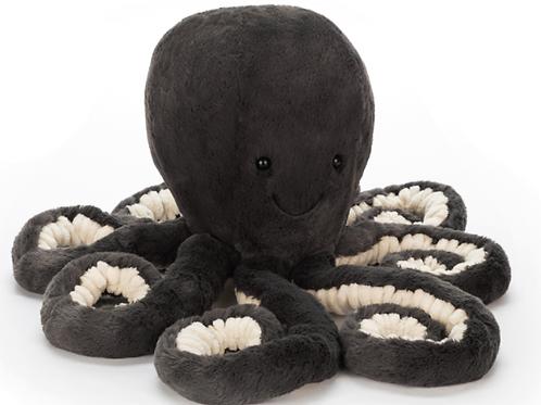 Octopus noir ☆ Jellycat