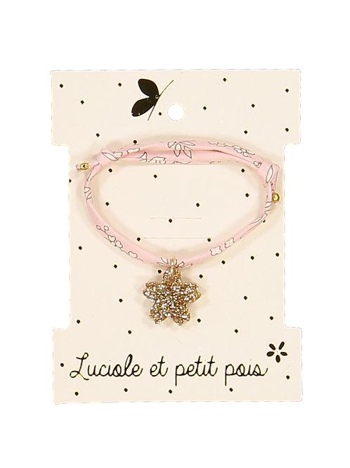 Bracelet Liberty Rose ☆ LUCIOLE ET PETIT POIS
