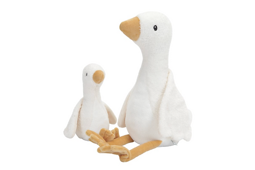 "Peluche ""Oie"" Little Goose Grande 30cm ☆ LITTLE DUTCH"