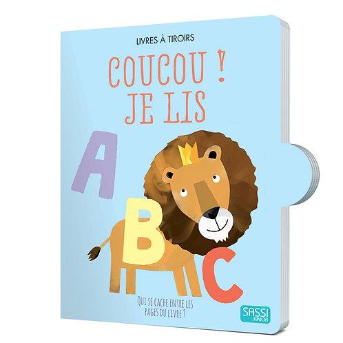 """Livres à tiroirs """"Coucou je lis"""" ☆ SASSI"""