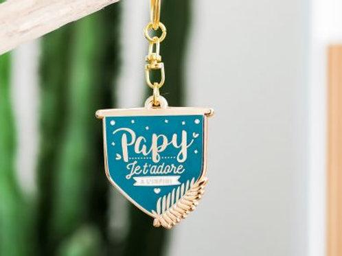 "Porte clefs ""Papy"" ☆ Manahia"