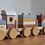 Thumbnail: Train à blocs Pure & Nature ☆ LITTLE DUTCH