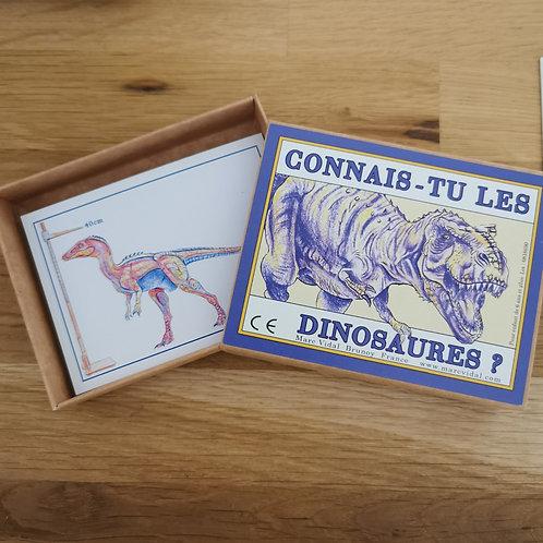 Fiches Connais-tu les dinosaures ?