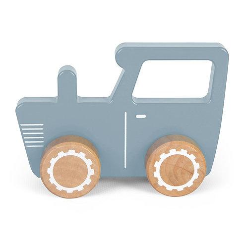 Tracteur bleu LITTLE DUTCH
