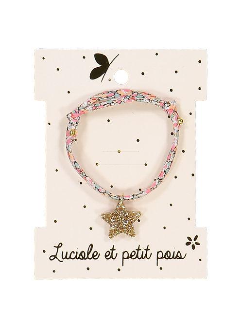 Bracelet Liberty Pepper Corail ☆ LUCIOLE ET PETIT POIS