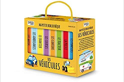 "Ma petite bibliothèque ""Les véhicules"" ☆ SASSI"