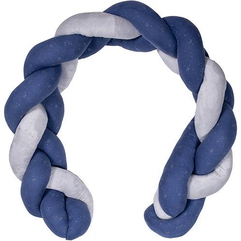 Tresse décorative bleu/gris ☆ BB&CO
