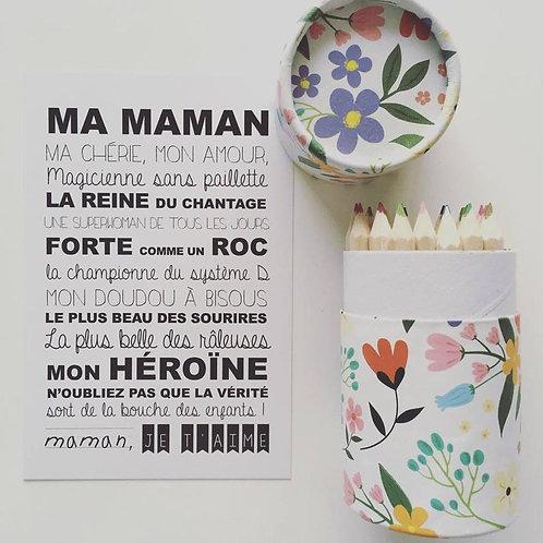 "Carte ""Ma Maman"""