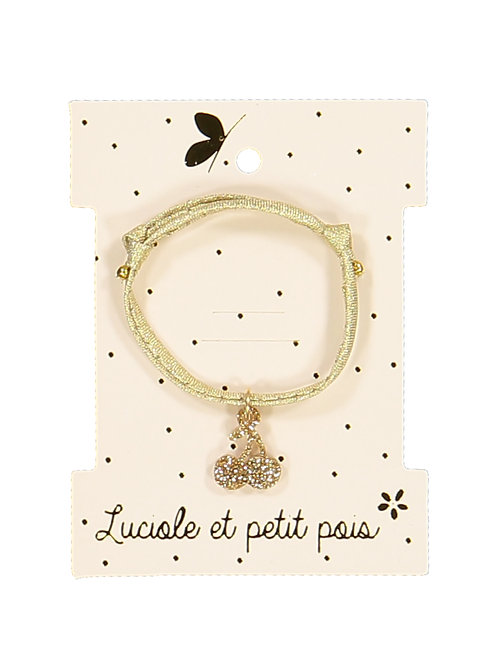 Bracelet cerise ☆ LUCIOLE ET PETIT POIS
