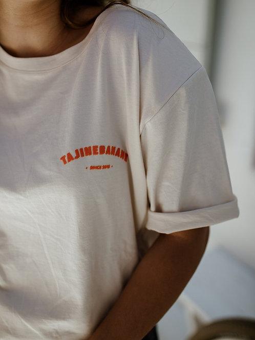 T-shirt allaitement p'allaite ivoire ☆ TAJINE BANANE