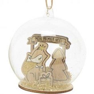 """Boule de Noël """"Mon premier noël"""" AMADEUS"""
